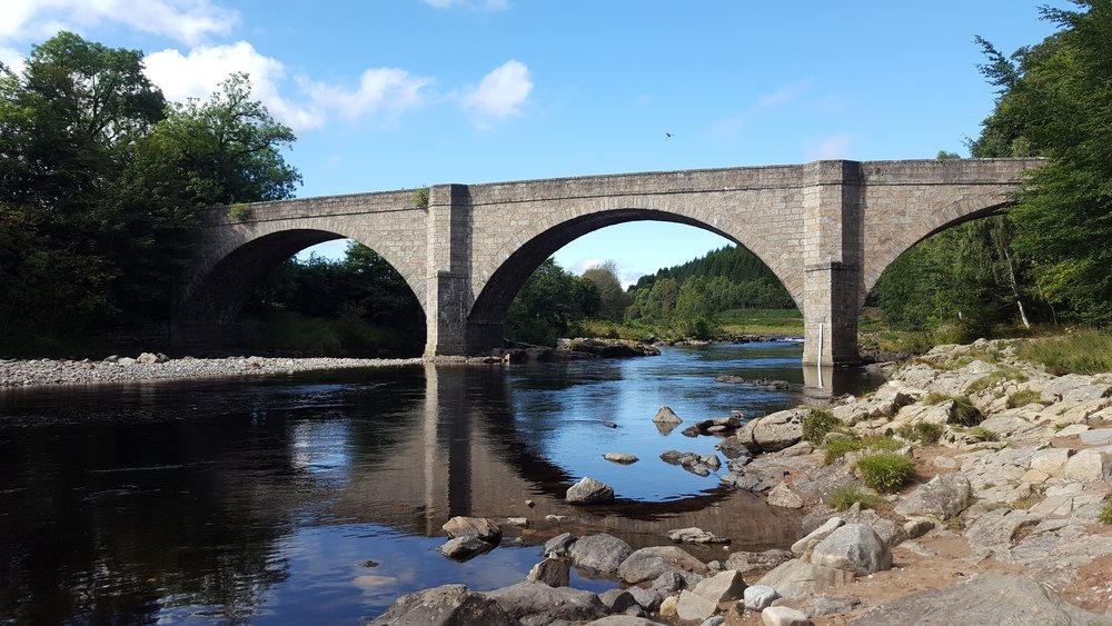 Potarch Bridge over the Dee