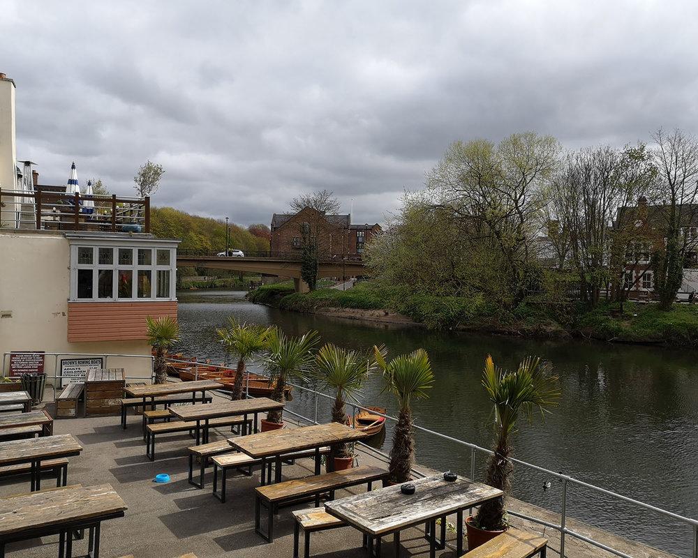 Durham river walk boat club
