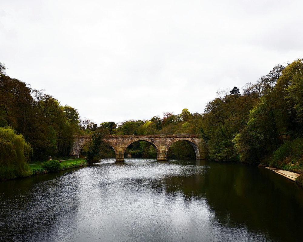 Durham river walk Prebends Bridge