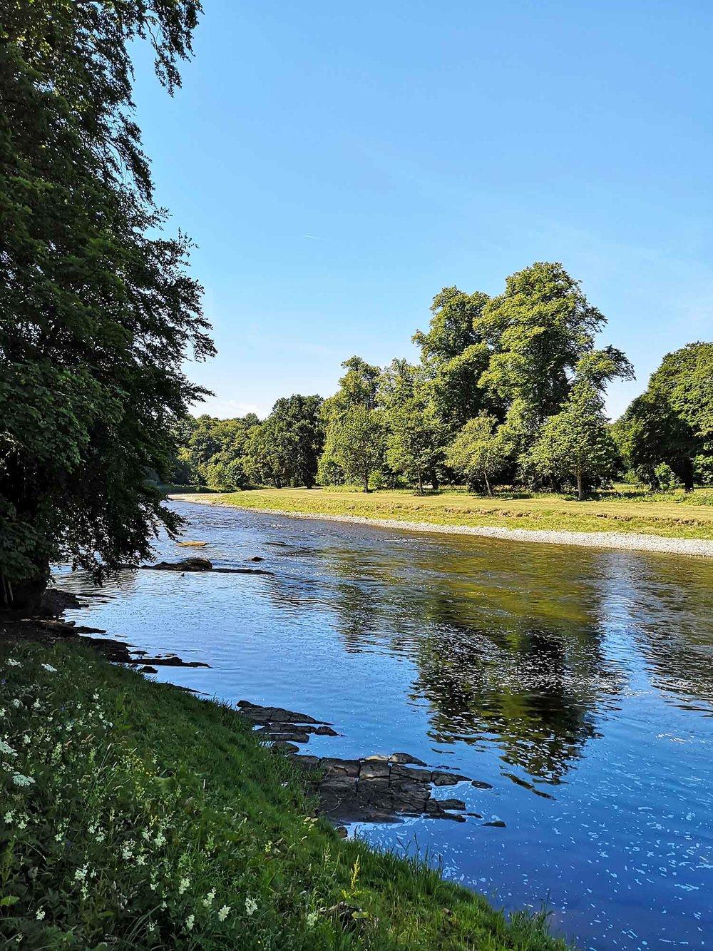 St Boswells River Tweed