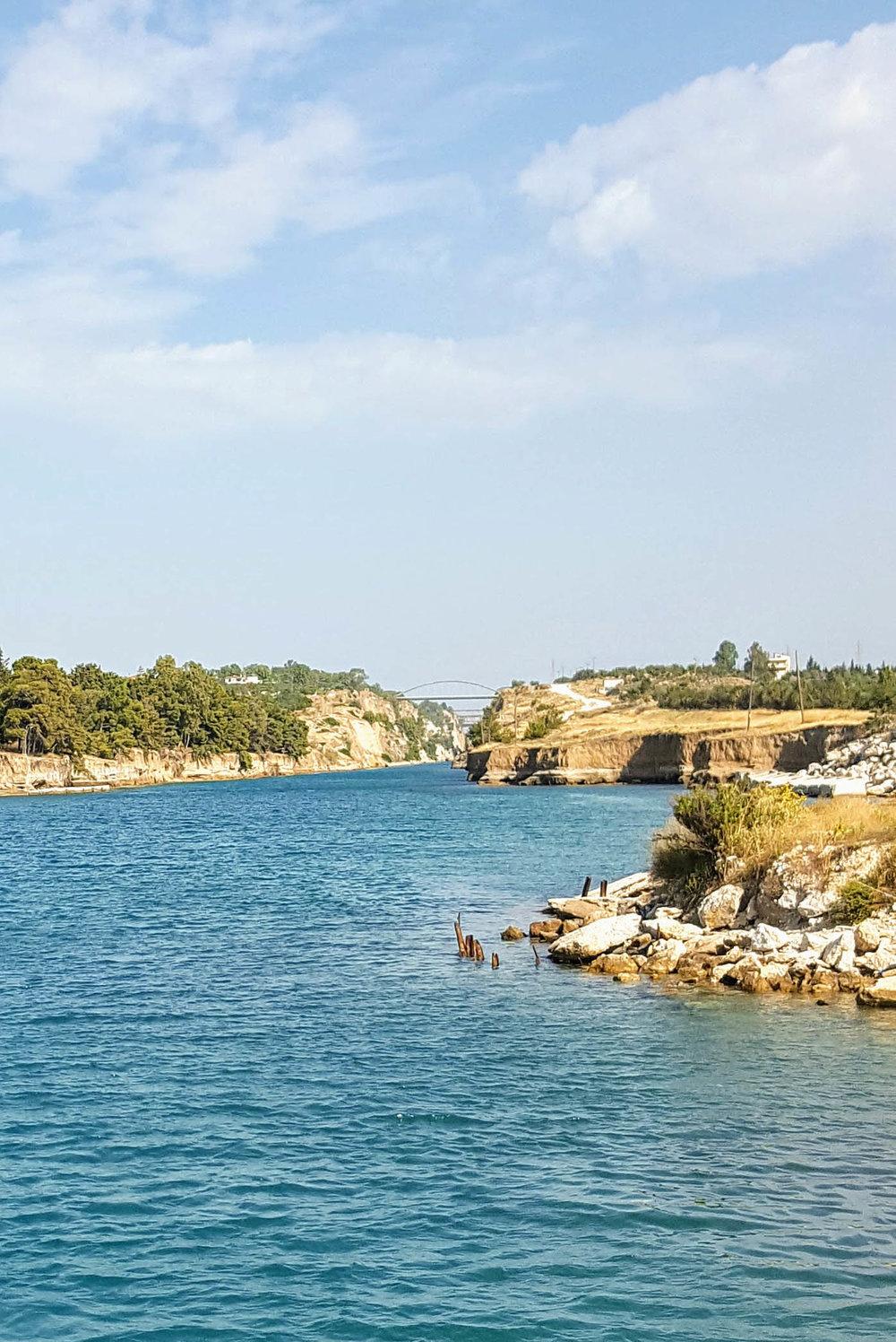 Corinth bridge and diolkos.jpg