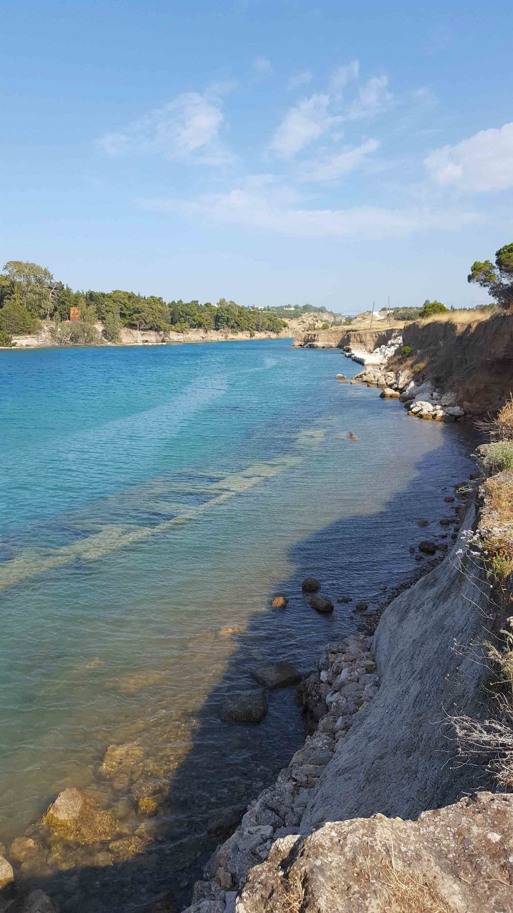 Corinth canal and diolkos underwater.jpg