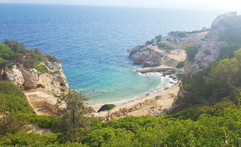 Cape Melagkavi and the Heraion - Greece
