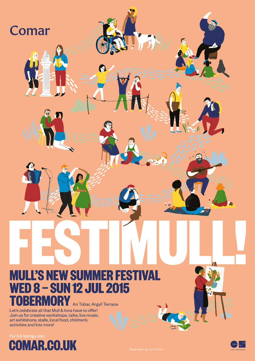 Full poster for FESTIMULL!