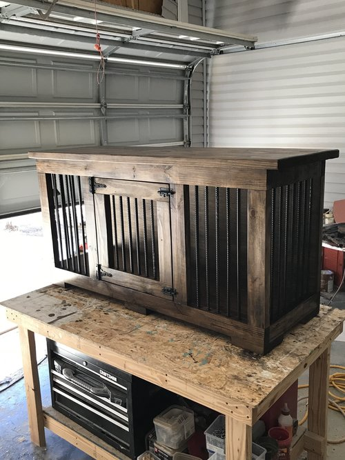 How To Build An Indoor Dog Kennel — 731 Woodworks - We Build Custom ...