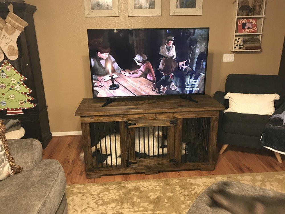 diy dog kennel.JPG