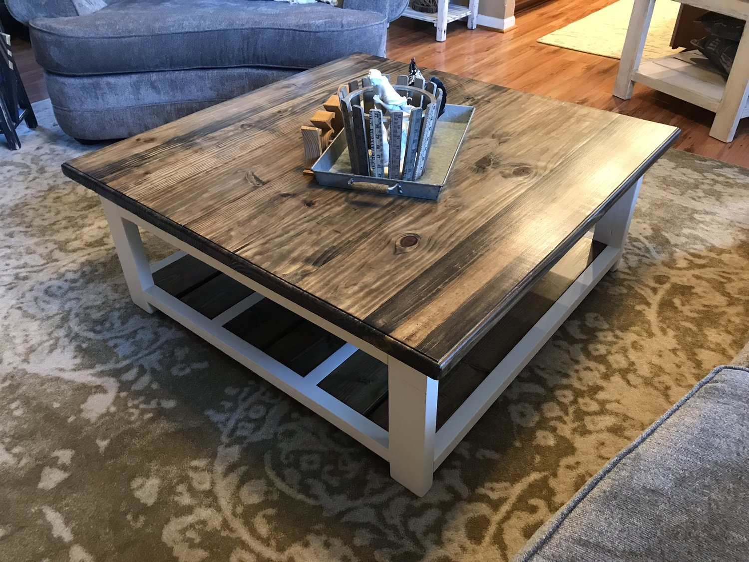 Diy Farmhouse Coffee Table 731 Woodworks We Build Custom