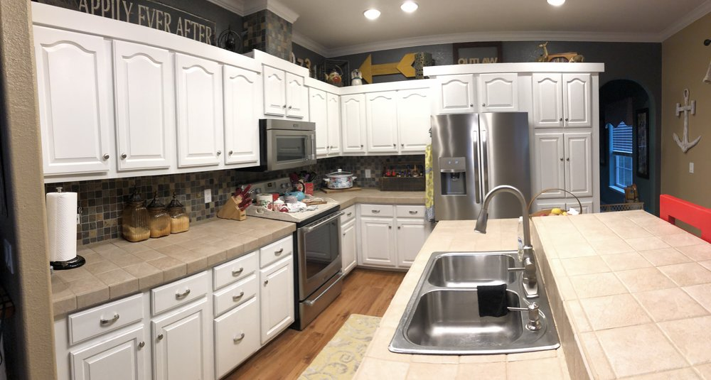 How To Paint Kitchen Cabinets Diy Kitchen Makeover 731 Woodworks