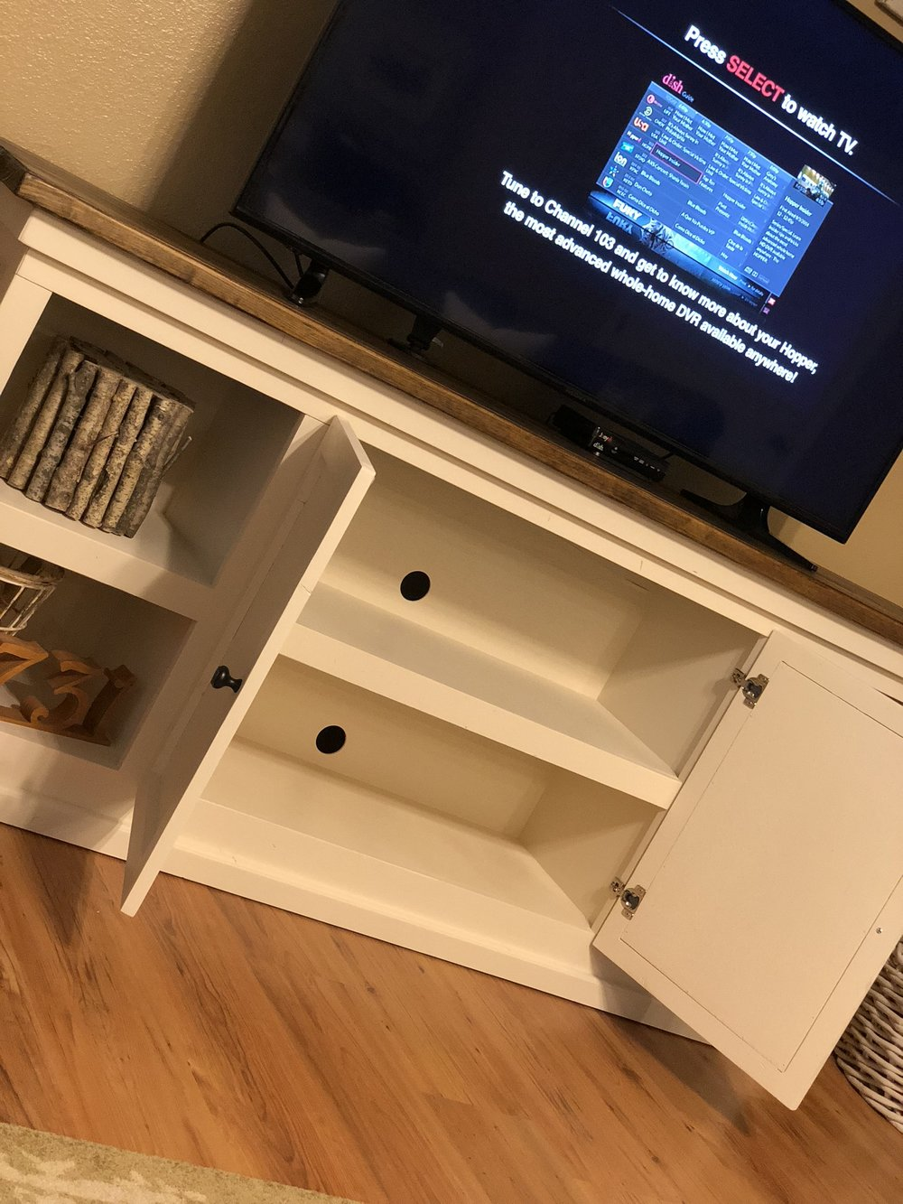 diy media cabinet open doors.jpg