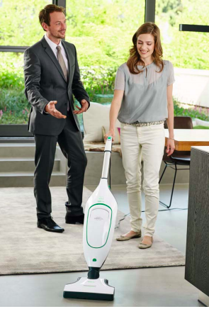 A direct sales approach. Vorwerk vacuum cleaners.