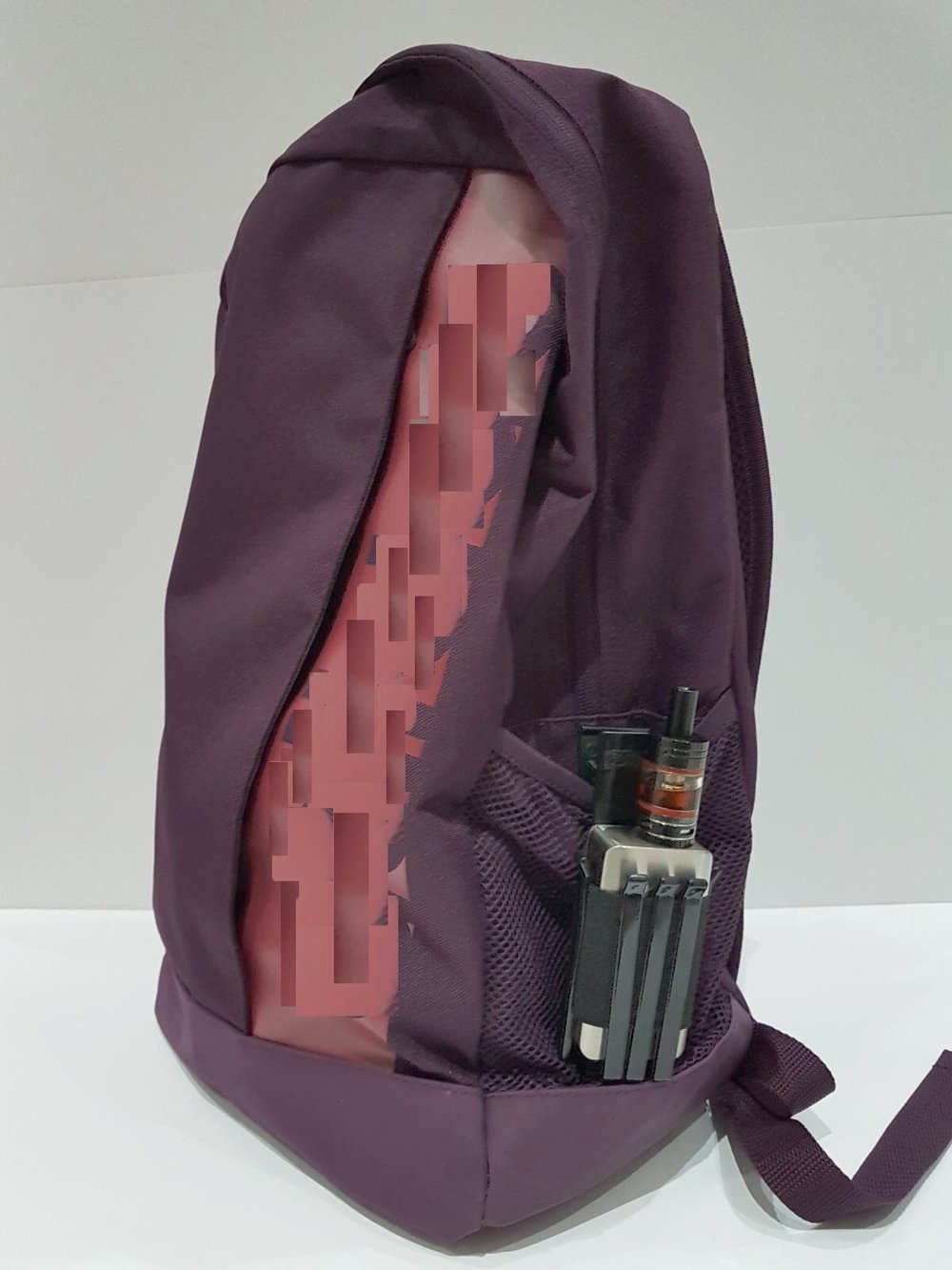 Clip the holder to your rucksack
