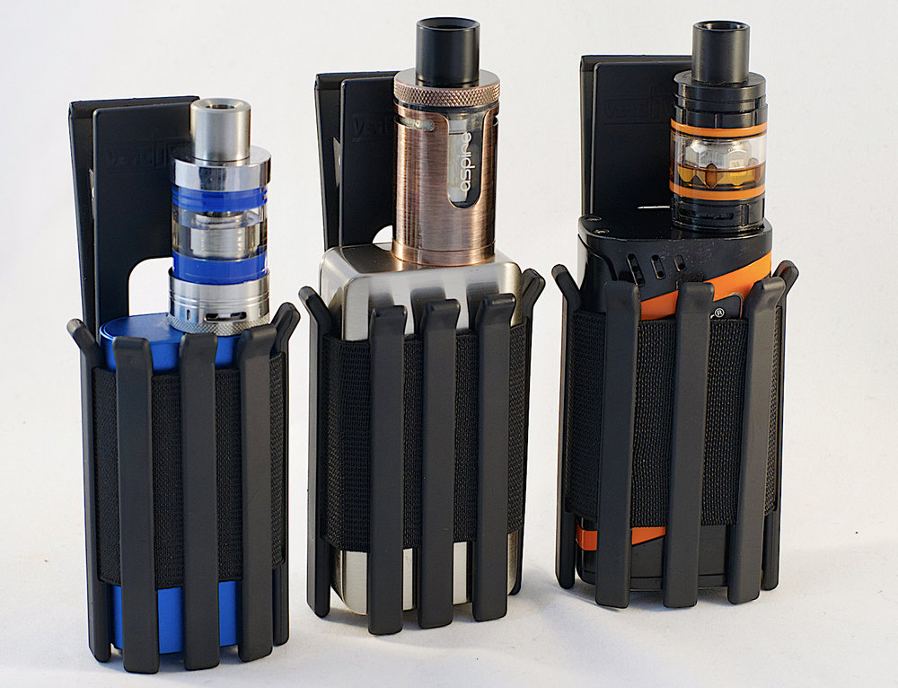 Different sized mods in the same vape holder