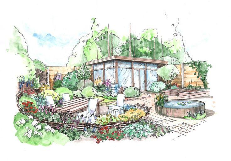 Landscape Architecture Blueprints Architectural Design 30 Landscape