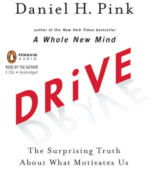 Read:    Drive: the surprising truth about what motivates us    Daniel Pink