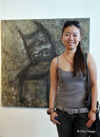 Yoyo at  Only Women Art Exhibition , Uwant Art Gallery, Shanghai, China, 2008