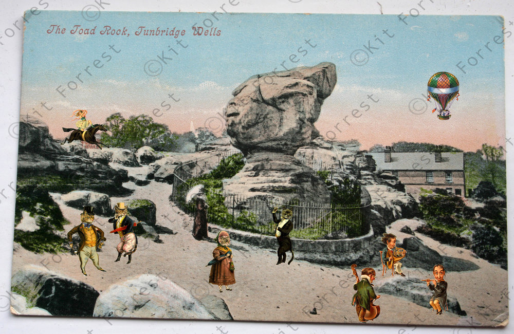 kit forrest toad rock Tunbridge Wells collage Kent History