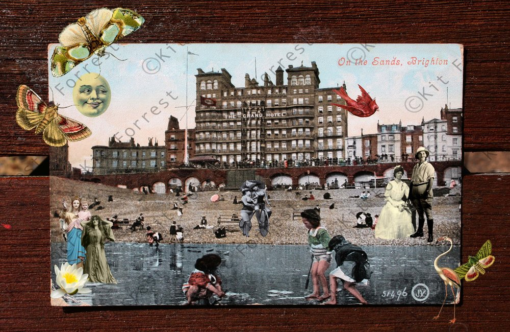 Kit Forrest Grand Hotel Brighton Collage Sussex History