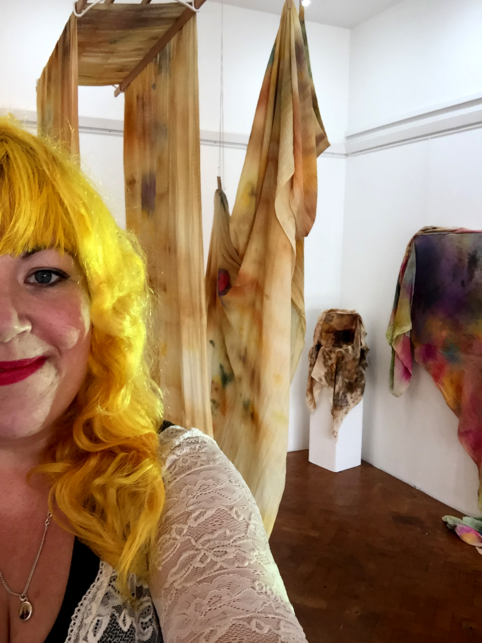 Gratuitous Exhibition Installed Happy Selfie