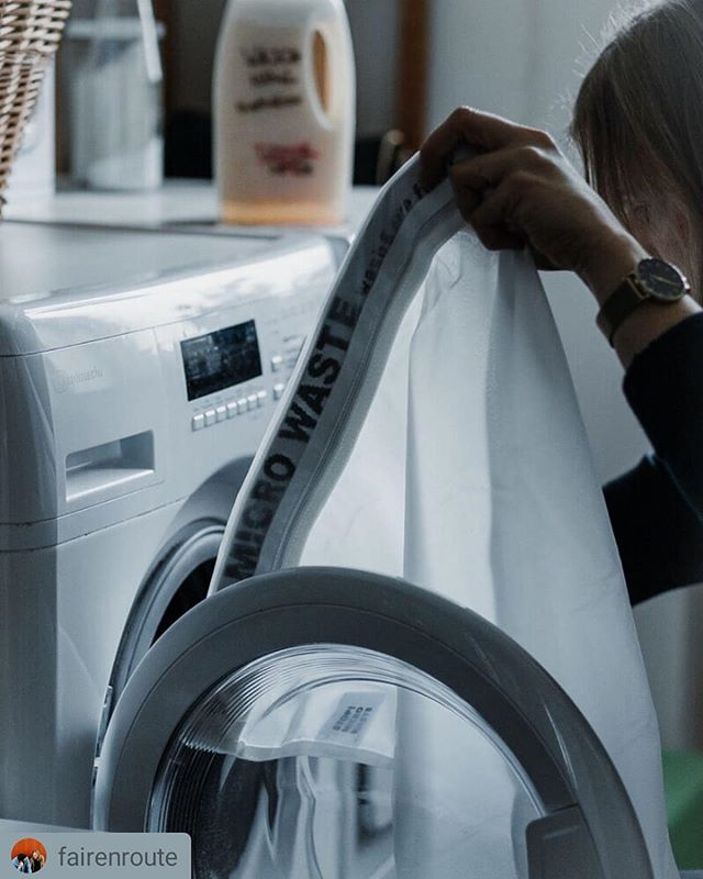 Each time we wash our synthetic clothes, thousands of microfibres are released into our rivers and oceans. They not only harm sea life, but are also found in our bodies . Please use the Guppyfriend washing bag and follow the Ten for the Ocean washing rules to protect nature and yourself. . .  #weareguppyfriendly #plasticfree #plasticwaste #skipplastic #washingguide #stopmicrowaste #microplastic #plasticpollution #guppy #guppyfriend #washingbag #marinedebris #plasticfree #conciousliving #stopmicrowaste #plasticfreenature #safetheplanet #environmentallyfriendly #chemfreelife #nontoxic #earthfriendly #greenhome #saynotoplastic #naturalliving #reduceplastic #plasticwaste #environmentalpollution #nature #naturelovers #singleuseplastic