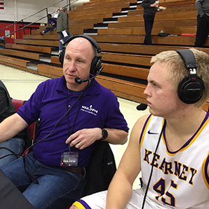 Andy Martens postgame chat with Aaron Hoffman at the William Jewell Classic.