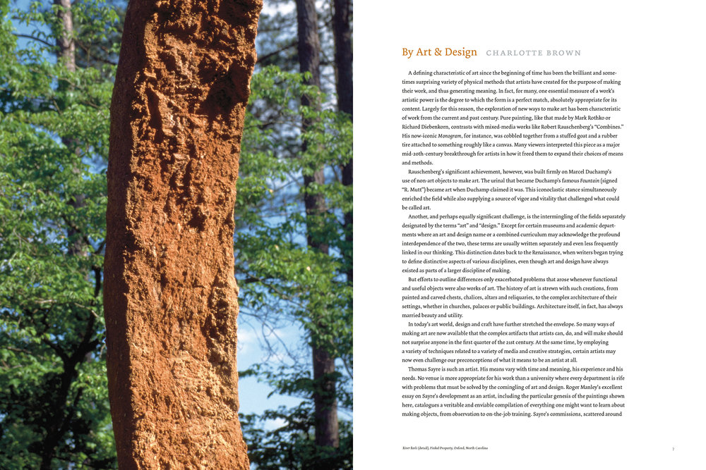 Opening spread to the museum director's introductory essay.