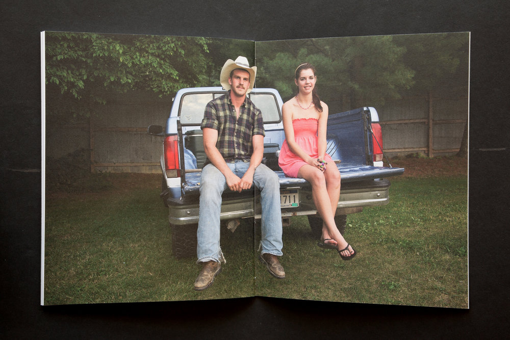 The photograph of Cody and Emily ends the image narrative.
