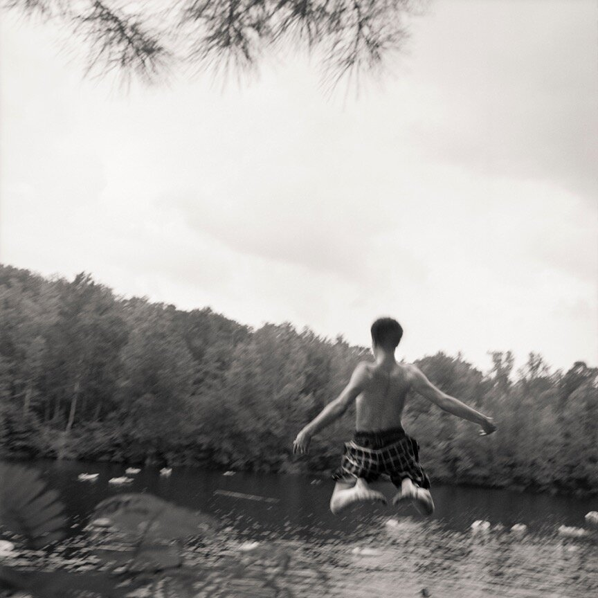 Bryce Lankard. Film-based photography from his long-running  Drawn to Water  series where he explores rivers, swimming holes, waterfalls, coastal areas, and more across the state.