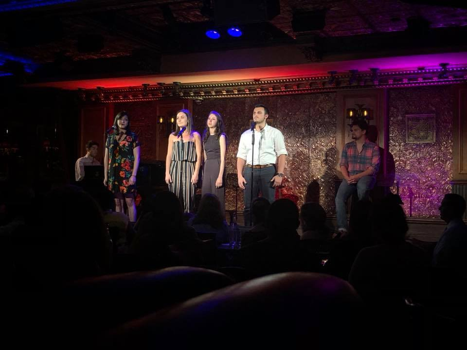 Cast singing Swept Away.