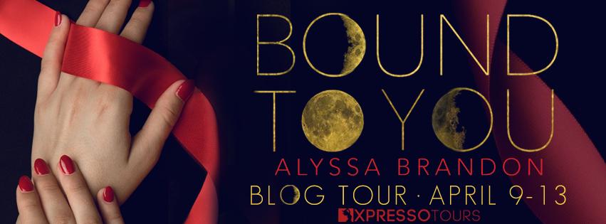 Tour Schedule:( http://xpressobooktours.com/2018/02/01/tour-sign-up-bound-to-you-by-alyssa-brandon/