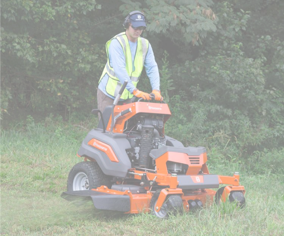 STAND-ON MOWERS -