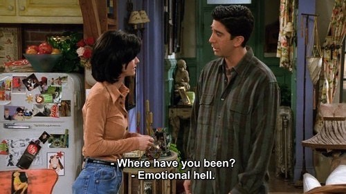 Ross is all of us . . . #friends #tv #tvshows #90s #ross #monica #gellars