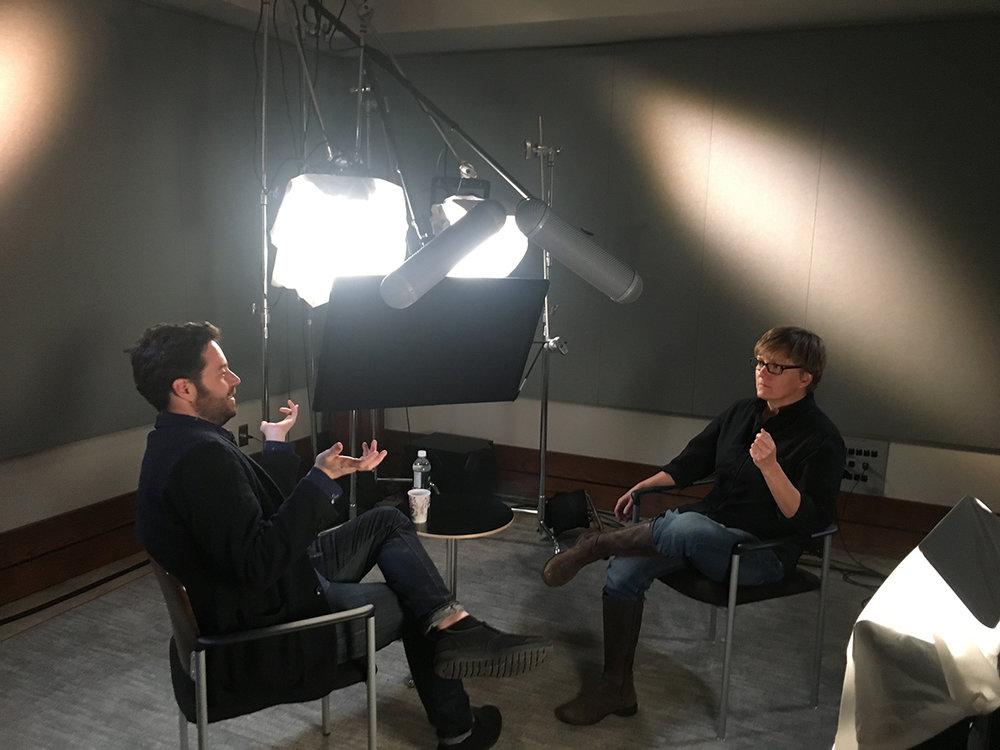 Talking with Garrard Conley, Pryor Center Interview