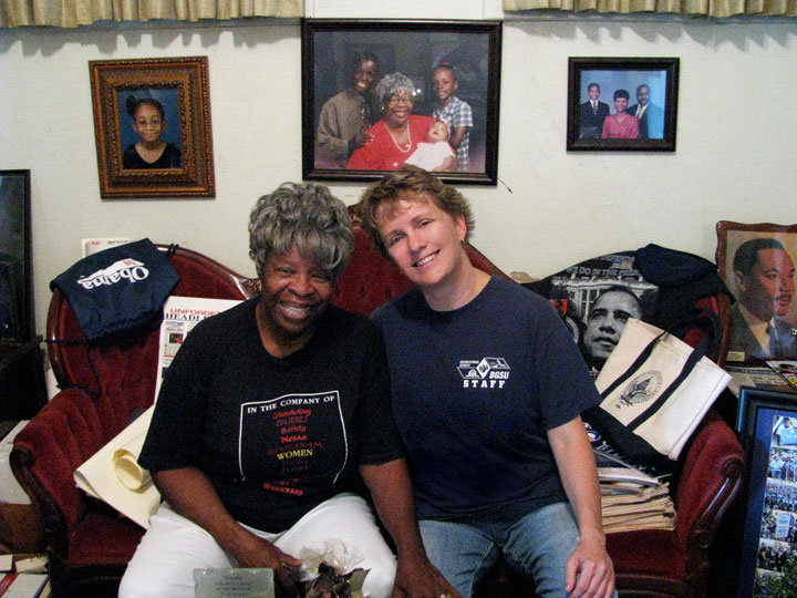 Civil Rights icon, Mrs. Annie Abrams