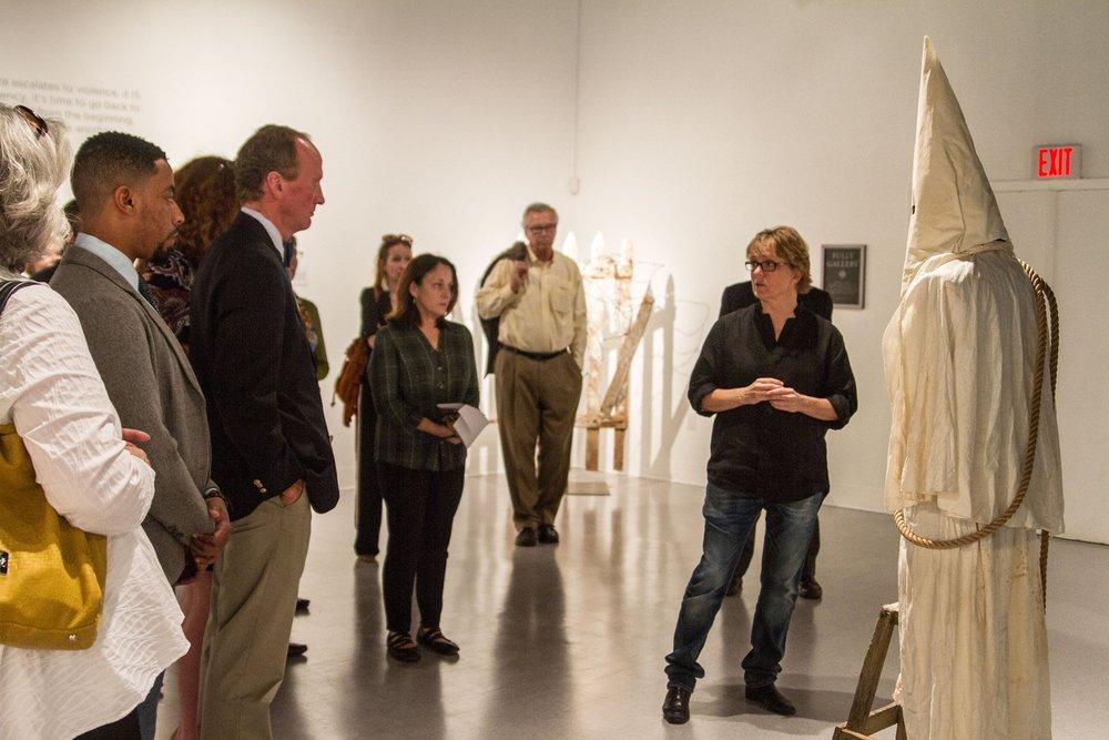 Artist Talk, Longwood University