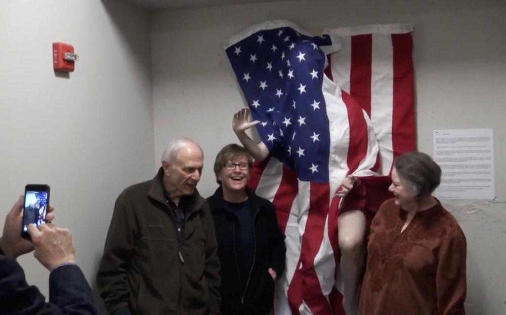 Collectors and friends, Senator David Pryor & Barbara