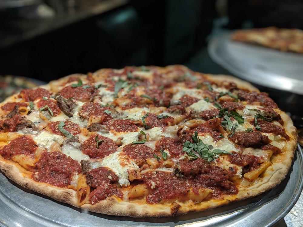 Pizza Mia Baked Ziti Pizza