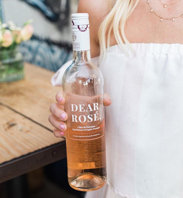 Will you accept this rosé?