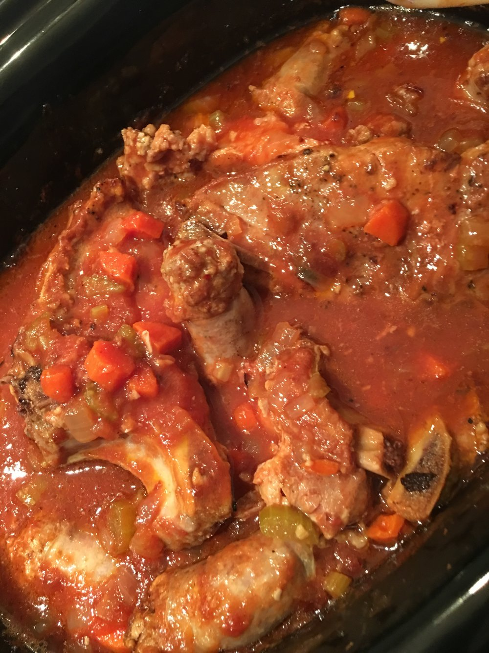 Crockpot Country Ribs and Sausage