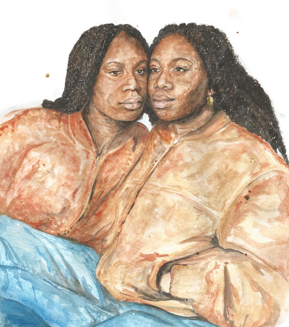 J C Cowans - Braided Twins, 2018.jpg