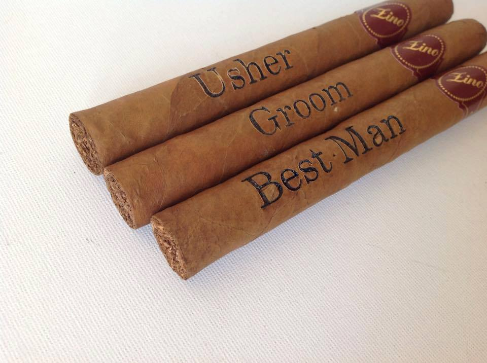 Scottish Wedding Directory - Personalised cigars are a perfect gift for the Best Man or Father of the Bride. This product was featured in the 'SWD Loves..' section of the magazine.Can be found in autumn 17' issue, page 19