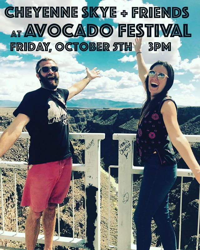 Santa Barbara we are back and excited to play at the Avocado Festival in Carpinteria tomorrow!  We will be on the main stage at 3pm. @brlively will be joining us for a collaboration mashup. . . @brianalancoe