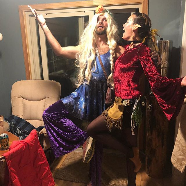Hope you all had a wonderful Halloween last night! The fairy and the lady from space had a blast.. the veil was thin and we danced our little brains out.