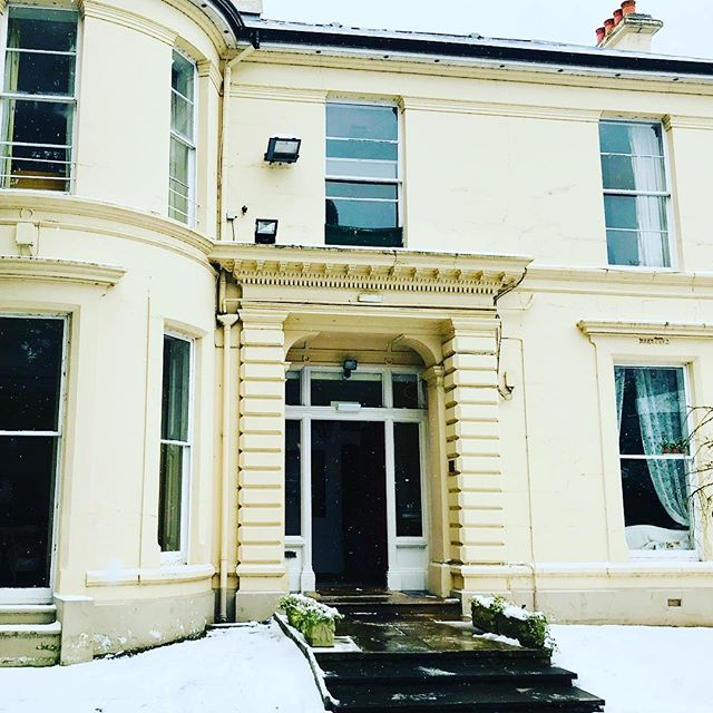 #throwbackthursday to why #iloveboarding : snow days with Victoria College!  Our recent cold snap in Belfast has got us remembering about all the fun we've had with the snow at Drumglass House this year!  @bsaboarding @boardingni