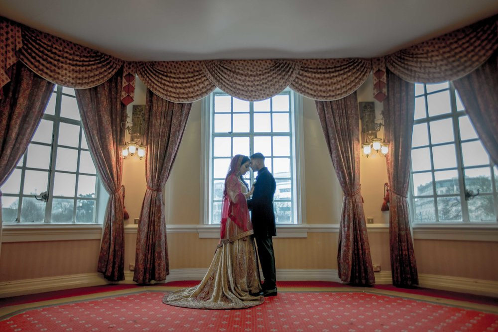 Muslim Wedding - Cardiff City Hall, Wales