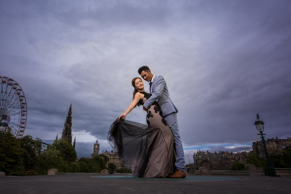 - Edinburgh| ScotlandPre-Wedding Shoot
