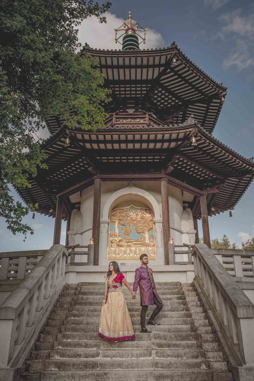 Engagement Shoot - Battersea Park | London