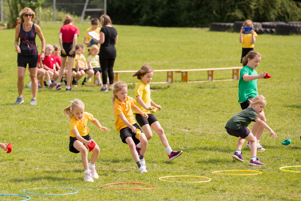 School Sports Day - South Wales