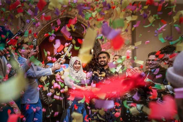 I like confetti. It always signifies an achievement, happiness, and success. I doubt you'd find any person not smiling during the confetti shots :) 🎉 ⠀ ⠀ ⠀ -------------------------------------⠀ ⠀ -------------------------------------⠀ ⠀  #weddingphotographer #wedding  #zowed #wedabout @wedabout #wedmegood  #muslimbride #muslimwedding #nikah #nikaah #никах #zowed #wedabout @wedabout #wedmegood  #weddingnet365 #wedwise  #wedmegood #weddingsutra #junebugweddings #bridebook #weddedwonderland #creativemuslimwomen @inspirasigaunmuslimm @muslimweddinginspo #pakistanstylelookbook #confetti #arab #arabwedding @officialweddingmagazine #henna #mehndi #bride #medndinight