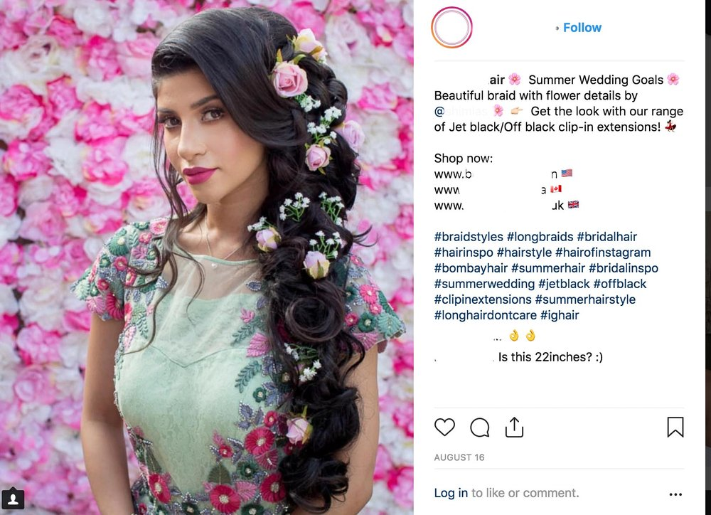 The hair product company shared the image without the photographer's consent.