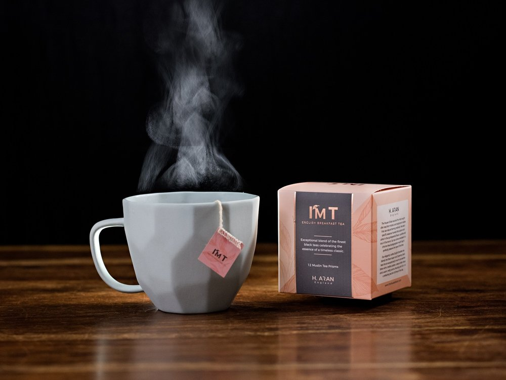 I'M T by The House of Aran, Luxury Organic Tea, Elegant English Breakfast Tea, Premium Tea